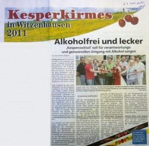 WIZ Marktspiegel 060711