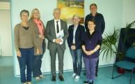 Landtagsabgeordnete besuchen Fachstelle