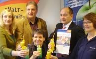 VR-Bank Stiftung unterstützt Juice-Box und HaLT