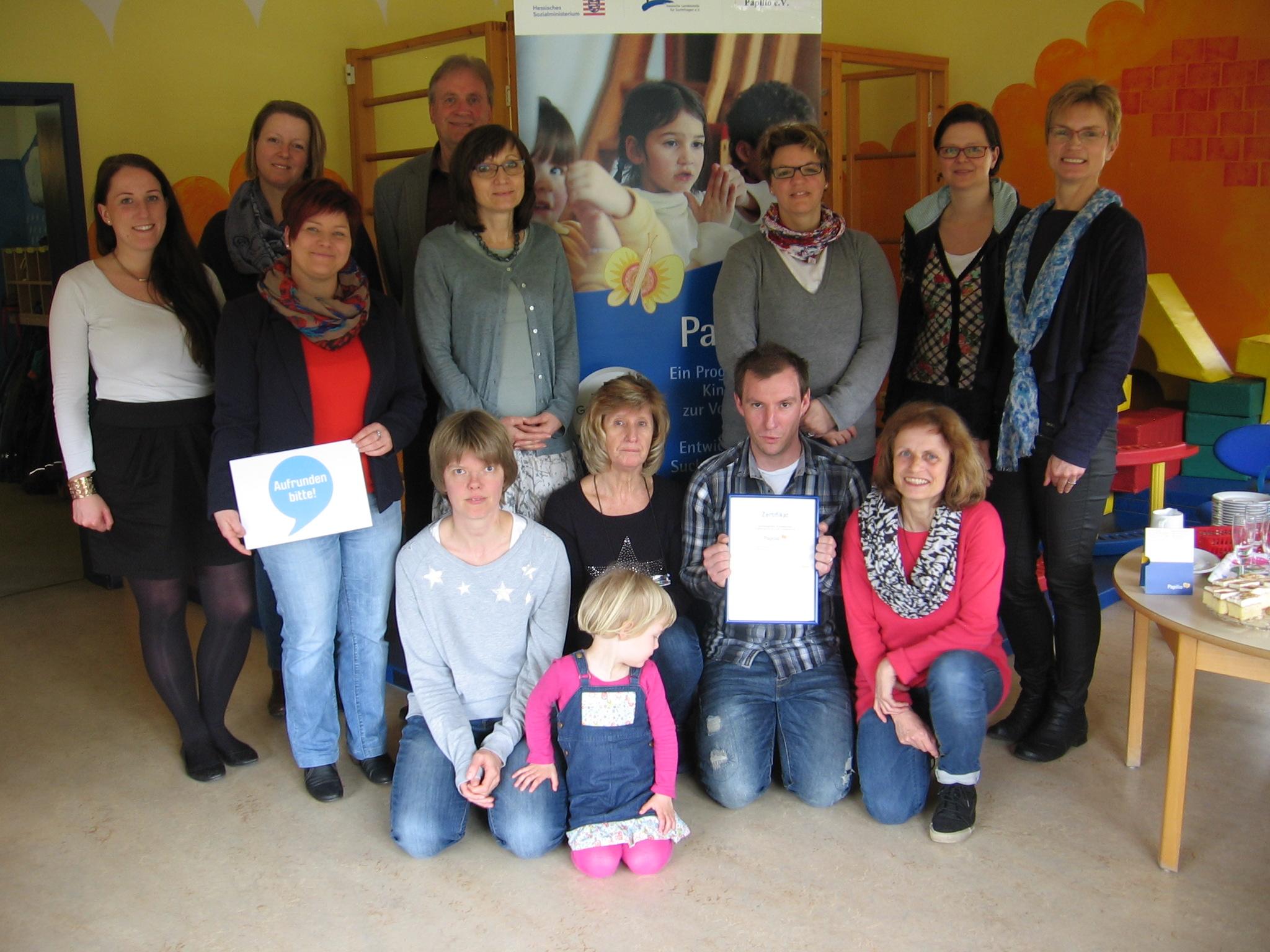 Kindergarten Pusteblume in Rommerode zertifiziert