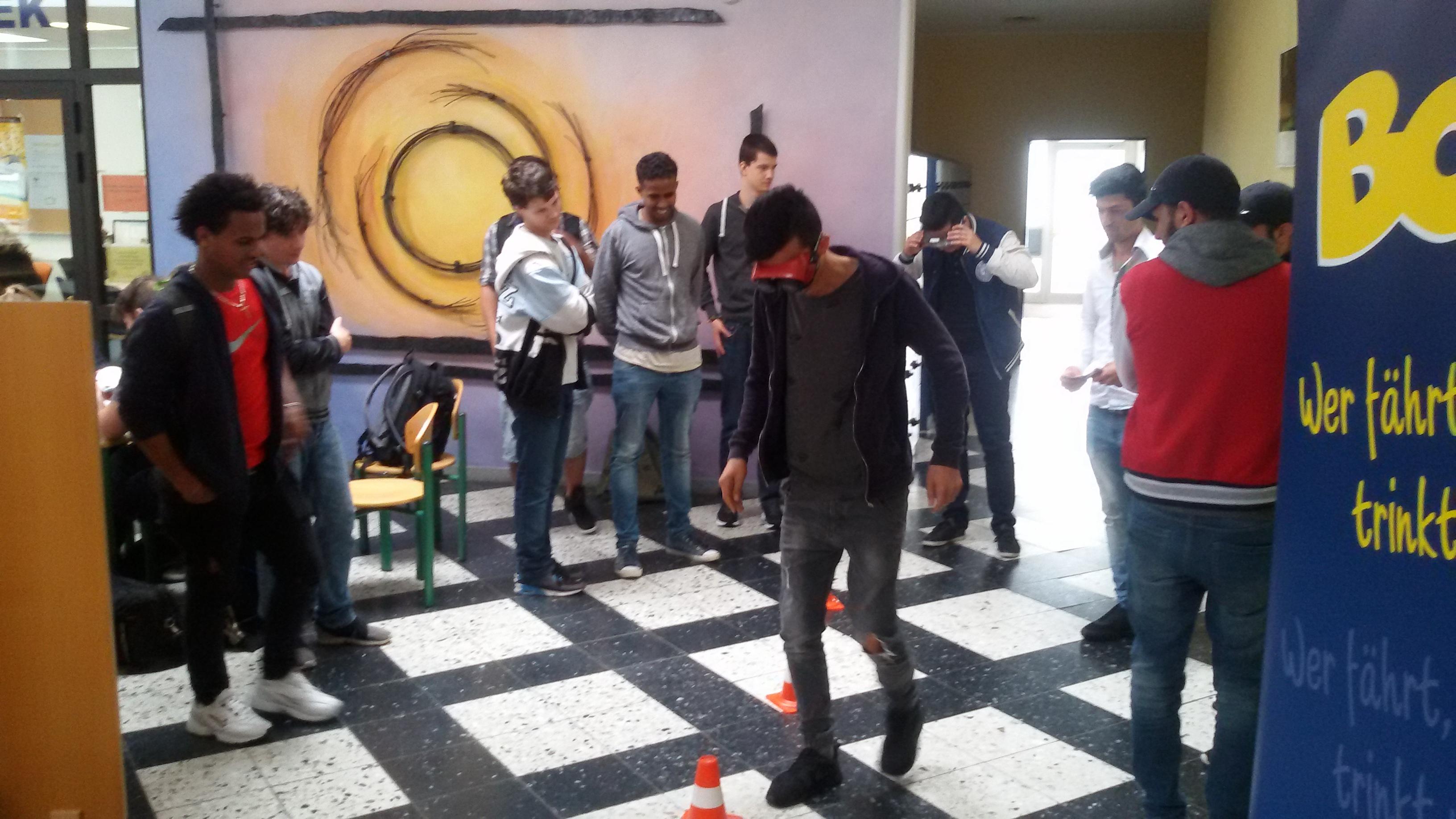 """Nüchtern bist Du """"schön"""" – Hessenweiter HaLT-Aktionstag an den Beruflichen Schulen Witzenhausen"""