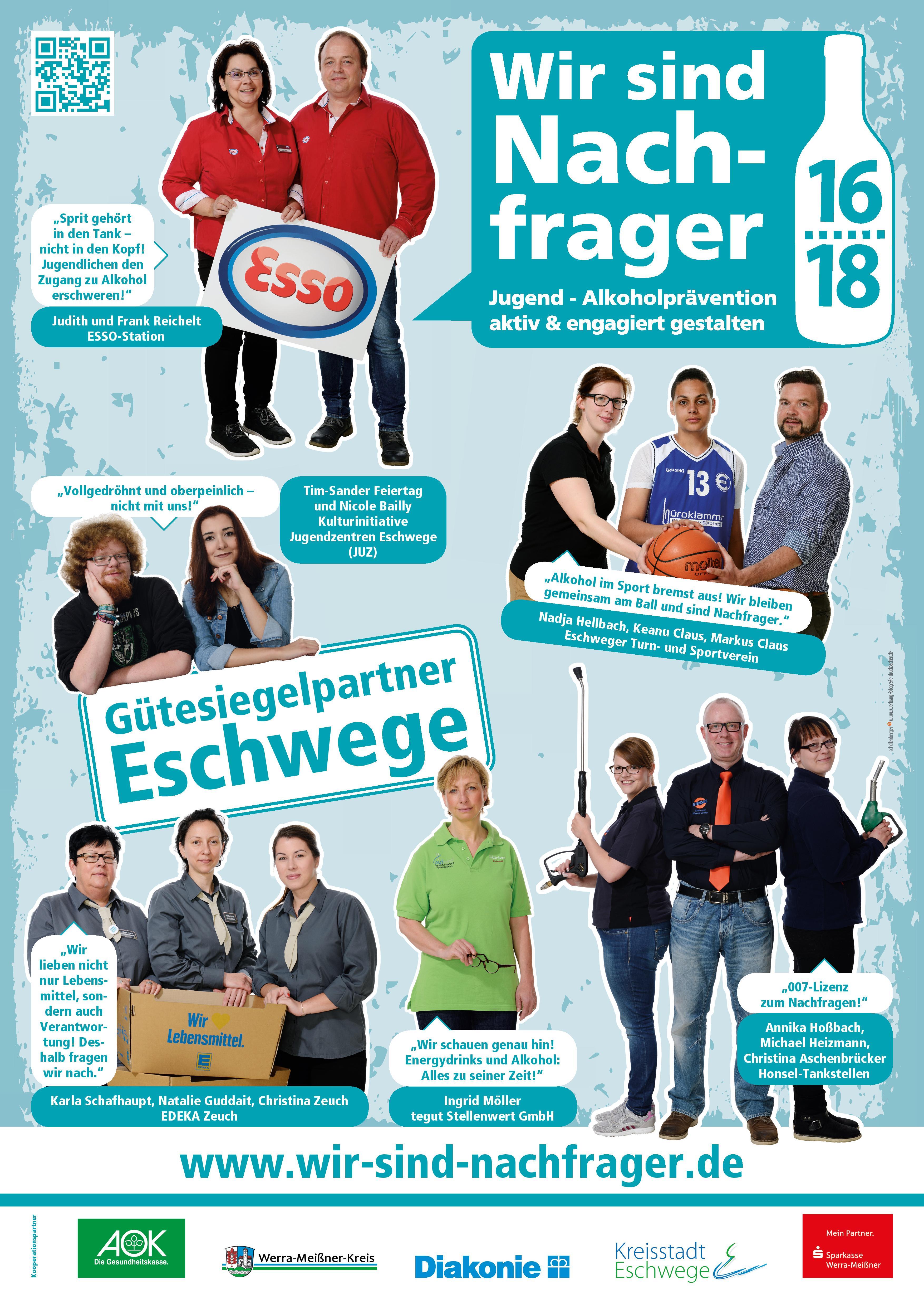 """""""Wir sind Nachfrager"""" startet Plakatkampagne in Eschwege"""