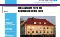 Jahresbericht 2020 der Suchtberatung und Suchthilfe veröffentlicht